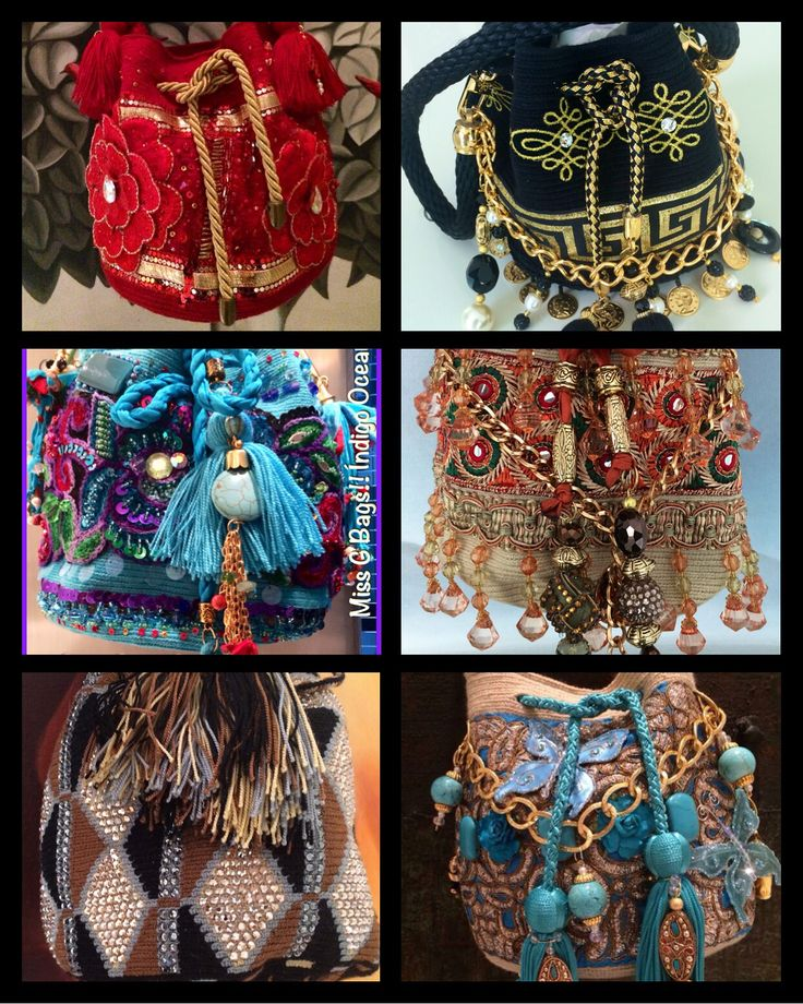 Wayuu Luxury Mini Mochilas