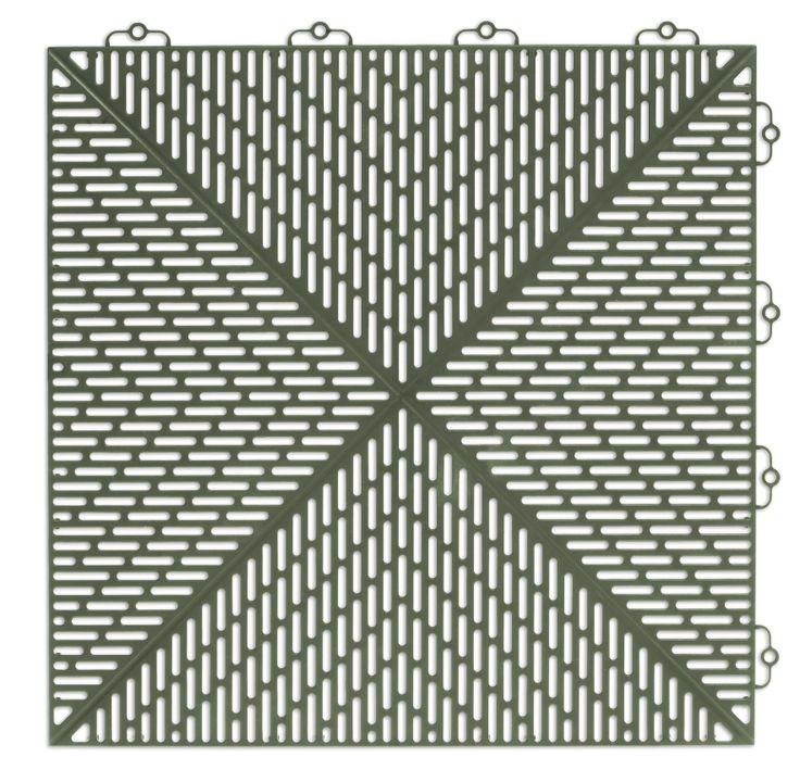 Bergo Unique Floor tile Colour: Soft Green