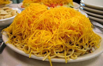Cincinnati Chili, finally perfected my recipe for this local favorite. Now my family enjoys it about once a week here in our new home town of Tulsa, OK. Made a couple adjustments to this recipe to fine tune it to our taste.