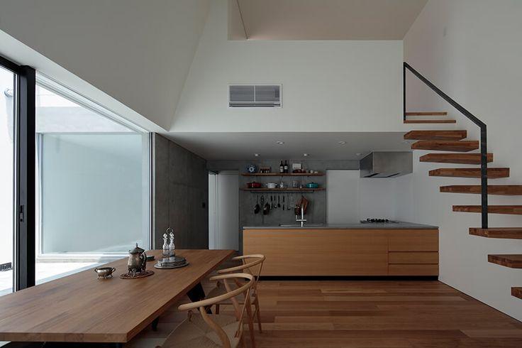 RC住宅 鉄筋コンクリート造の家 House in Hatsudai4