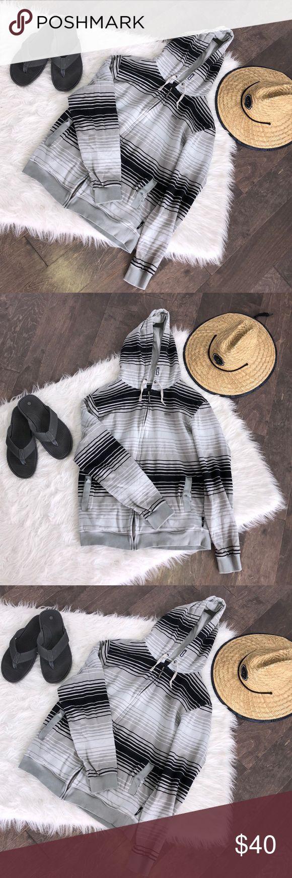 Ripcurl Striped Zip Up Hoodie Ripcurl Striped Zip Up Hoodie Ripcurl Shirts Sweatshirts & Hoodies