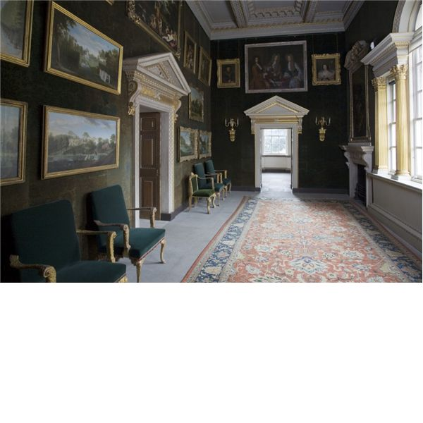 The Green Velvet Room At Chiswick House   House Was Built In To The Designs  Of Its Owner, The Earl Of Burlington.