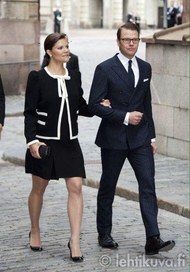 Crown Princess Victoria and Daniel of Sweden