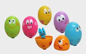 Zoek het pratende ei!