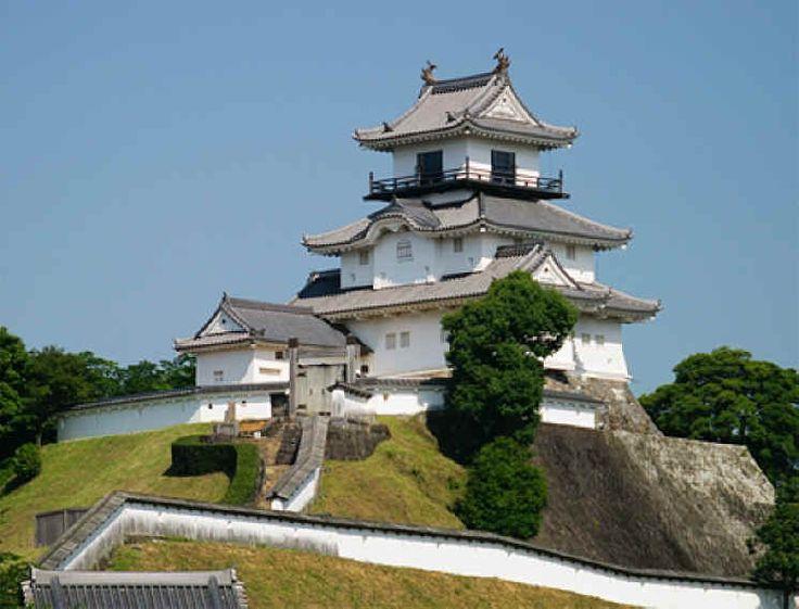 木造復元天守:掛川城