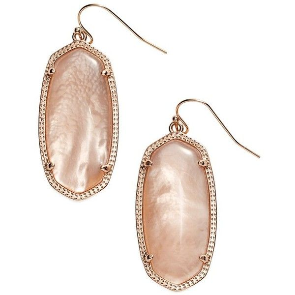 Kendra Scott 'Elle' Drop Earrings ($55) ❤ liked on Polyvore featuring jewelry, earrings, multicolor jewelry, colorful earrings, 14 karat gold earrings, earrings jewelry and multi color jewelry