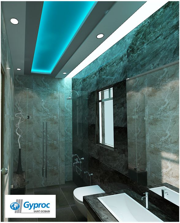 Gyproc ceiling designs will make you home classy elegant for Fall ceiling designs for bathroom