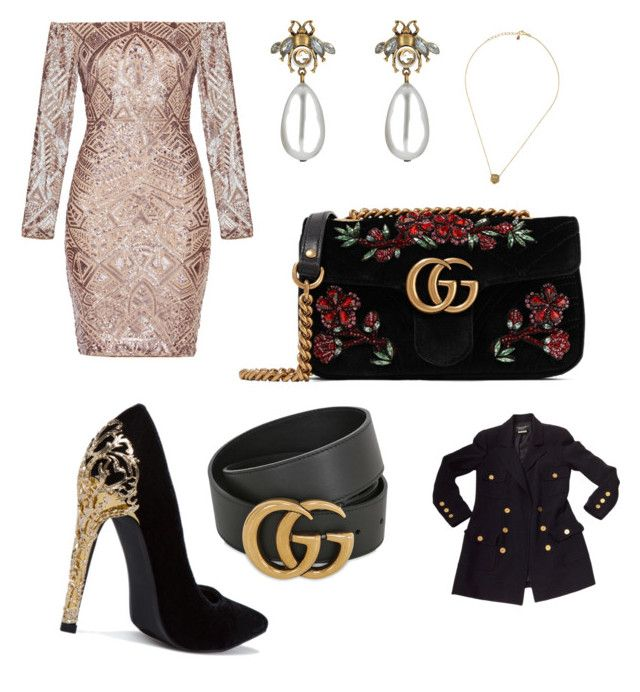"""💫"" by iuliacalin on Polyvore featuring Gucci, Chanel and BCBGMAXAZRIA"
