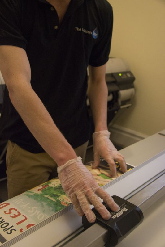 We followed one of our technicians around with a camera to show you how our prints get made.