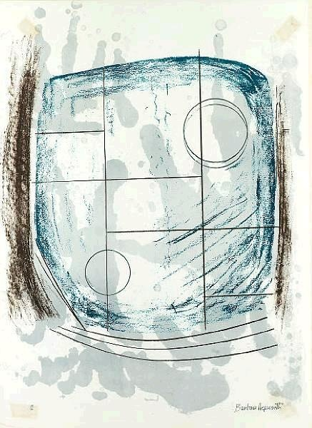 Working drawing by Barbara Hepworth