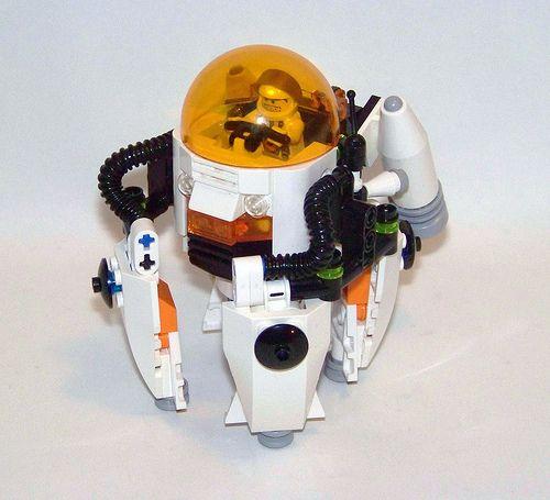 LEGO - Mars Mission - Zero-G Laser Drill POD | by Slayerdread