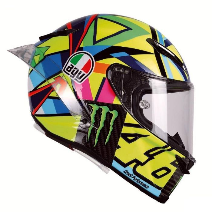 Valentino Rossi AGV Pista GP R Soleluna 2016 helmet