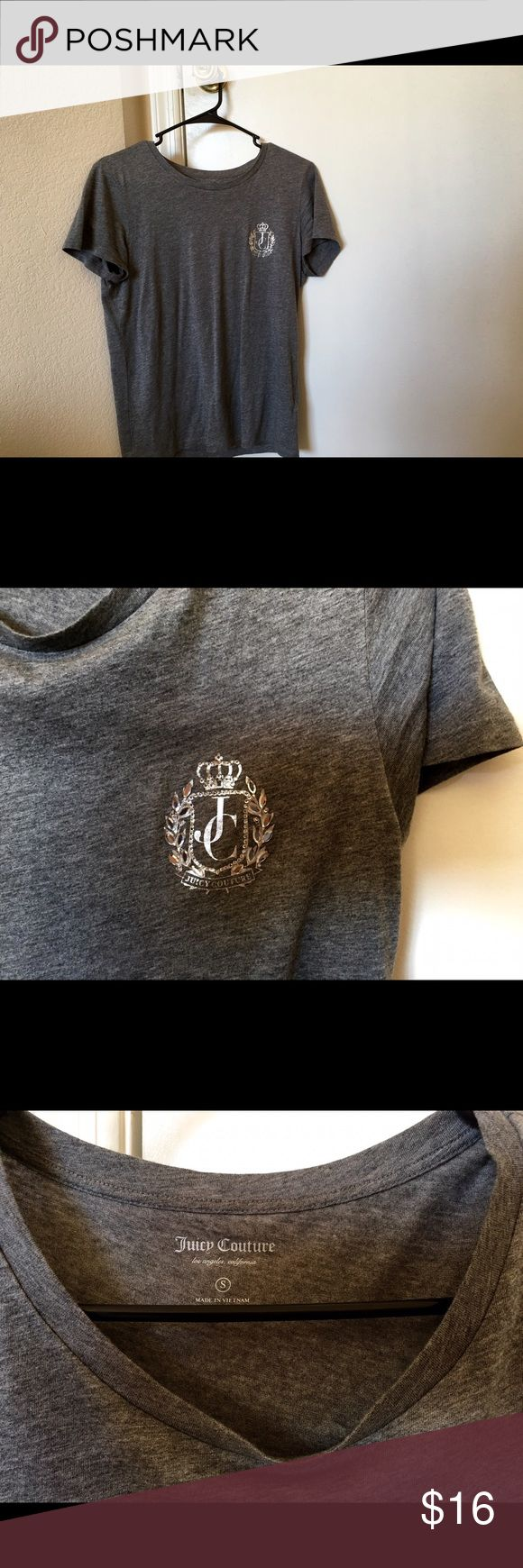 🐘Juicy Couture Logo Tee Only worn twice, in great condition. Juicy Couture Tops Tees - Short Sleeve
