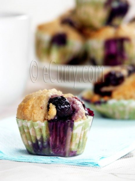 Blueberry Lime Muffins Nice twist with the lime favor for spring♥
