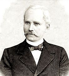"""Louis Kuhne, a German naturopath best known for his cold water hydrotherapy treatments. Considered the first """"big city"""" naturopath."""