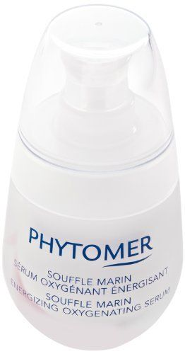 Phytomer Souffle Marin Energizing Oxygenating Serum 30 ml by Phytomer. $39.99. Gives a fresh complexion and tone look. Enhances skin's natural defenses. Neutralize harmful pollutants. Packed with minerals and oligo-elements. PhytomerSouffle Marin Energizing Oxygenating Serum(30 ml)BenefitsIdeal for normal, combination, thick or oily skin Lightweight nourishing serum Helps prevent skin from damaging pollutantsReturns vibrancy to dull, lifeless complexionsThe Souffle M...