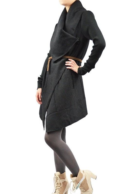kekebo 20 off sale  wool coat dress woollen coat by kekebo on Etsy, $109.99
