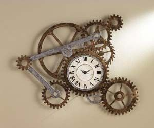 Love this clock!!  Of course I do! For some goofy reason I love mechanical stuff and gears!!!