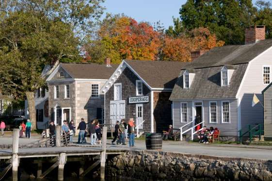 Most Picturesque Small Town in Every State -Connecticut: Mystic, Connecticut is home to Mystic Seaport, America's leading maritime museum. - Andrew Price, Mystic Seaport
