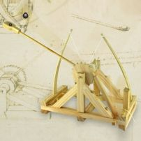 Katapulta da Vinci - doskonale odwzorowany model