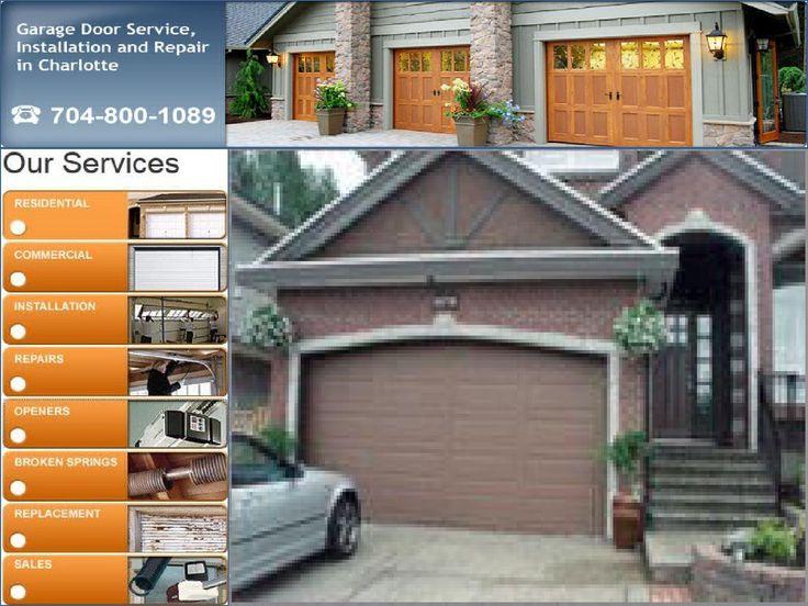 24 best garage door opener repair charlotte nc images on for Garage doors charlotte nc