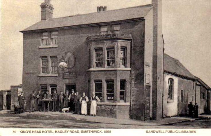 Staffordshire, Smethwick, King's Head Hotel in Hagley Road 1898