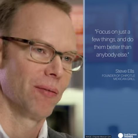 Steve Ells, Founder of Chipotle Mexican Grill, Turned Sustainability into a Brand Differentiator / smallbiztrends.com