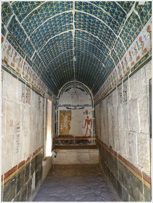 Opened in february 22 chapel of sun in the complex of Hatschepsut - Luxor westbank