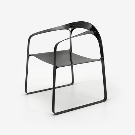 Award Winning London Based Designer Timothy Schreiber Is Pleased To  Announce The Launch Of A Carbon Fibre Version Of His Plooop Chair At Design  London, ...