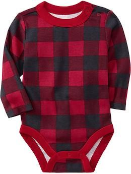 Jersey Bodysuits for Baby   Old Navy