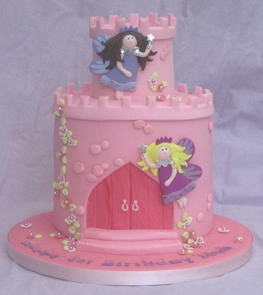 the cake fairy   Children's Cakes » Fairy Castle