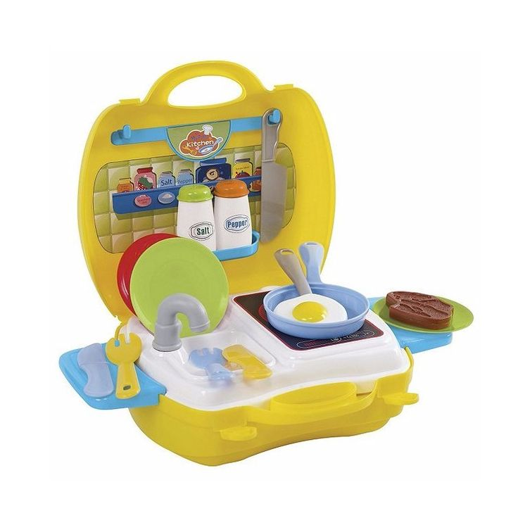 My Carry Along Kitchen Play Go http://www.greenanttoysonline.com.au/my-carry-along-kitchen