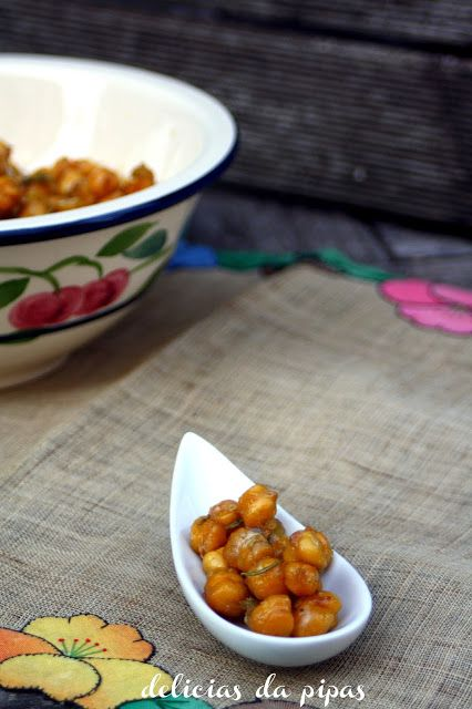 Delícias da Pipas: Aperitivos de grão doces