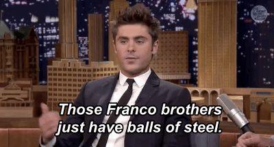 Zac Efron Broke His Hand Grabbing Dave Franco's Balls