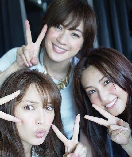 3人娘で撮影♪ #AneCan #蛯原友里 #高垣麗子 #有村実樹 #model