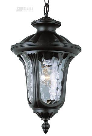 Trans Globe Lighting 5914 BK New American Transitional Outdoor Hanging Light TG-5914-BK