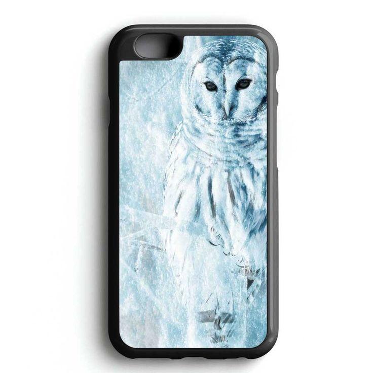 Winter White Owl iPhone 7 Case