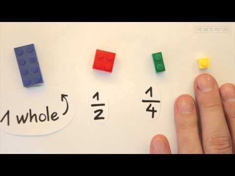 The Easiest Way To Learn Fractions With LEGOs - YouTube