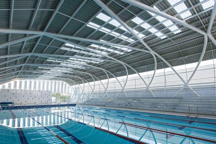 Gallery of AISJ Aquatic Center / Flansburgh Architects - 2
