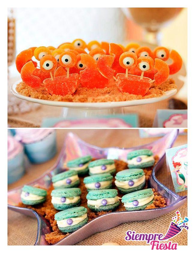 Ideas para fiesta de cumpleaños de la Sirenita de Disney. Encuentra todo para tu fiesta en nuestra tienda online: http://www.siemprefiesta.com/fiestas-infantiles/ninas/articulos-la-sirenita.html?limit=all&utm_source=Pinterest&utm_medium=Pin&utm_campaign=Sirenita
