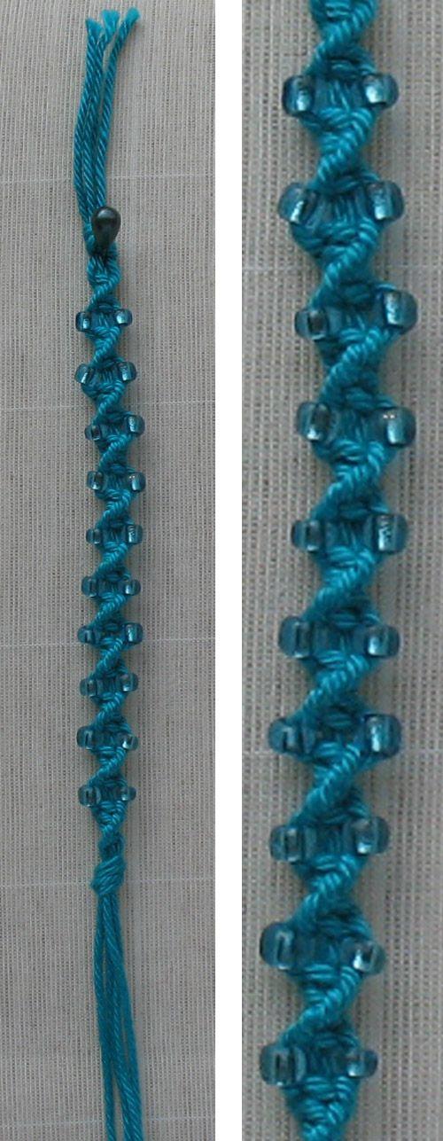 macrame ND bead work