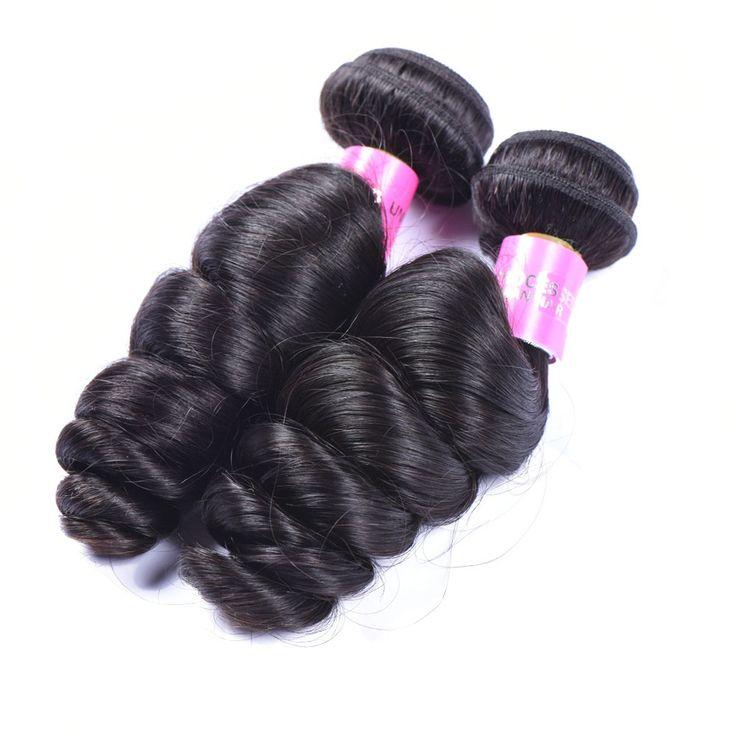 Loose Wave Virgin Brazilian Bundle Hair Remy Human Hair Weft Weave Extensions 100g