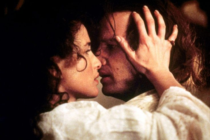 Andie MacDowell and Christopher Lambert in Greystoke: The Legend of Tarzan, Lord of the Apes