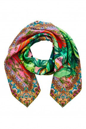 BENNYS BLESSING LARGE SQUARE SCARF