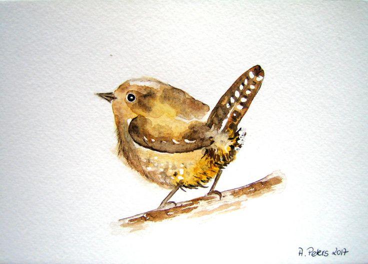 16 besten aquarelle von v geln und schmetterlingen birds and butterflies bilder auf pinterest. Black Bedroom Furniture Sets. Home Design Ideas