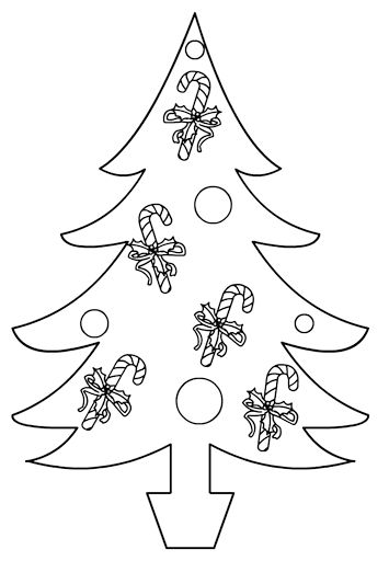 42 best Christmas images on Pinterest Xmas, Christmas crafts and - free christmas tree templates