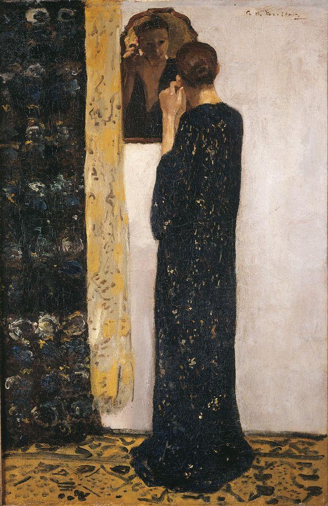 George Hendrik Breitner, Het oorringetje, 1895. Olieverf op doek, 84,5 x 57,5 cm. Particuliere collectie. Foto © Christie's Images Limited 1998