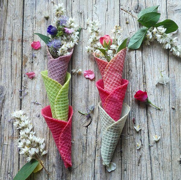 cucinama.com - Coni di gelato colorati