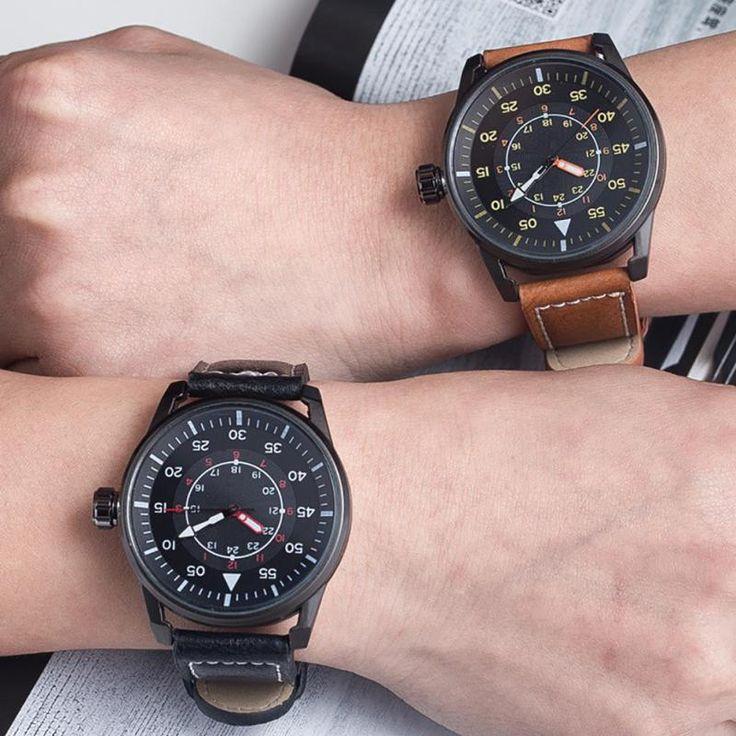1 шт. новый бренд любителей женщины мужчины часы Пара наручные часы Простота студент Кварцевые Наручные Часы кожаный ремешок мода подарок H4 #jewelry, #women, #men, #hats, #watches, #belts
