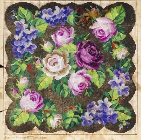 Berlin WoolWork Pattern ~ Victorian Magazine Publication